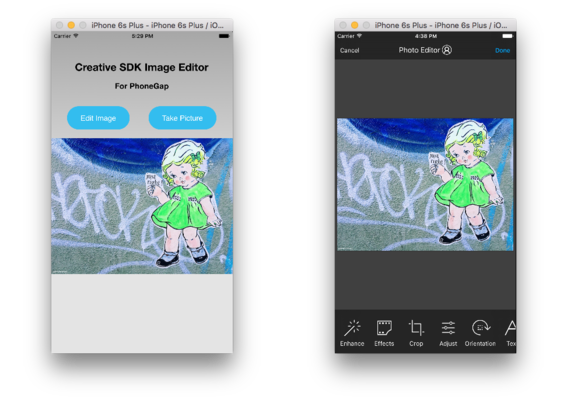 The Adobe Creative SDK on GitHub